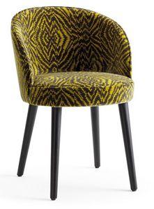 Tammy-P, Stuhl mit abgerundeten Formen