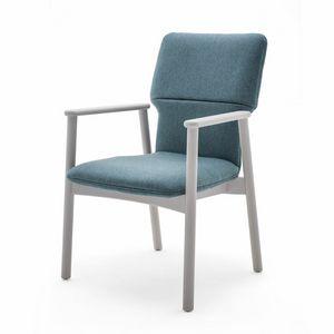 Twiggy 04121, Sessel mit gepolsterter Schale