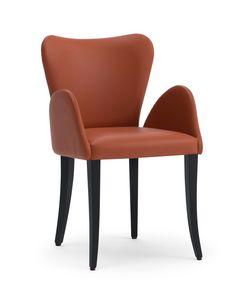 VENTO Sessel, Gepolsterter kleiner Sessel mit klassischem Geschmack