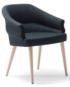 Wilma-P, Feuerfester Sessel für Restaurants
