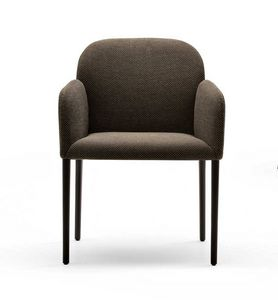 Zip, Gepolsterter Stuhl mit umhüllendem Komfort