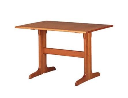 603, Rustikale rechteckigen Tisch, in Buche, für Küche