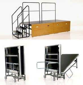 Podeste, plattformen, stufen und stege