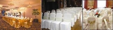 Cover, Chaircovers zu Catering, Feiern und Bankette zugeschnitten