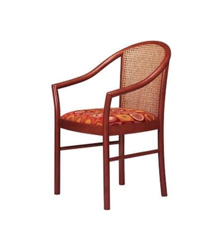 406 C, Sessel mit Rohr zurück zum Wohnzimmer