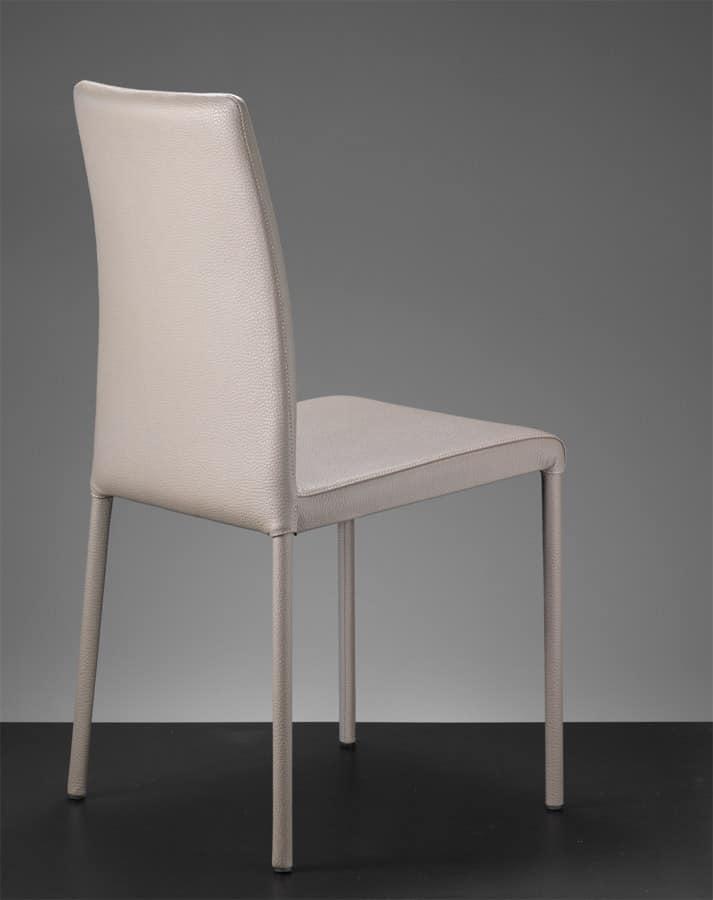 stuhl mit hoher r ckenlehne ledersessel f r restaurants idfdesign. Black Bedroom Furniture Sets. Home Design Ideas
