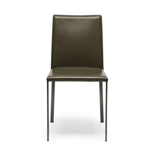 LINA CHAIR, Leather chairs