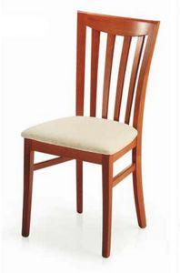 Demetra, Stuhl mit gepolstertem Sitz, für Esszimmer