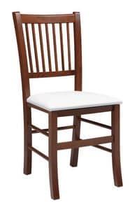 SE 430, Mit Rückenlehne Stuhl mit senkrechten Lamellen, für Restaurants