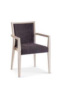 1134, Stühle mit Waffen im Holz für Esszimmer