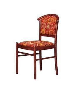 407 3/4, Buche gepolstert Stuhl für Konferenzraum und Bar