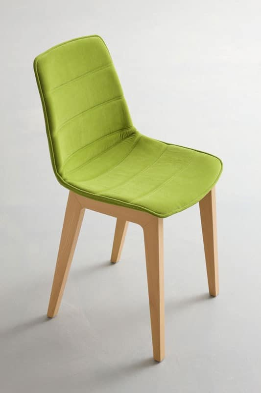 Stuhl mit buchen basis gepolsterte schale f r konferenz for Stuhl design entwicklung