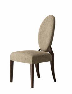 Amadeus Stuhl, Stuhl mit ovaler Rückenlehne