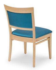 Anna XL, Gefüllter Stuhl für Hotels