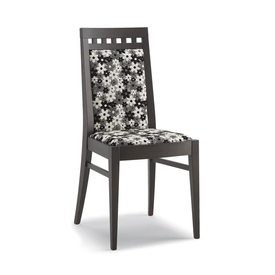 chair in holz hohe r ckenlehne f r wohnzimmer idfdesign. Black Bedroom Furniture Sets. Home Design Ideas