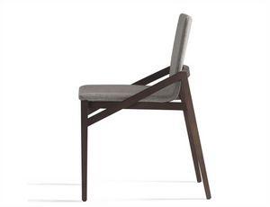 Capita 510T, Gepolsterter Stuhl aus Holz