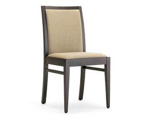 Guenda-S2, Restaurantstühle aus Holz