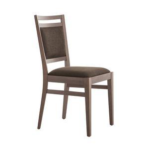 MP472C, Gepolsterter Stuhl für Wohnzimmer