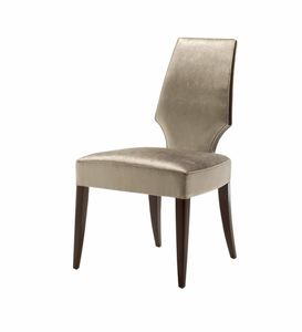 Vendome Stuhl, Stuhl mit hoher Rückenlehne für Restaurant