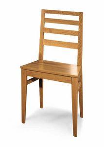 Art. 192/S, Stuhl mit Rückenlehne mit horizontalen Lamellen