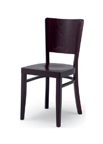 300, Stuhl aus Holz für Wohn-und Objektbereich