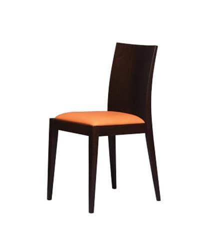 331, Stuhl mit glatten Holzrücken, für Bäckerei