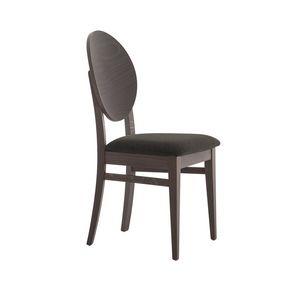 MP49W, Stuhl mit runder Holzrückenlehne