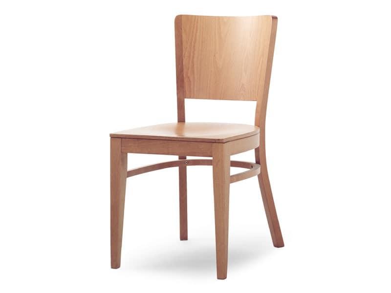 Oregon/S, Stuhl ganz aus Holz