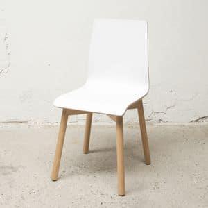 Stuhl Bolz, Abnehmbare Stuhl, widerstandsfähig gegen Kratzer und Schock