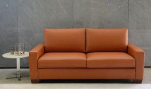 Boston leather, Ledersofa, zum Outlet-Preis