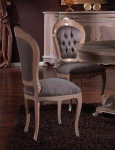 3640 STUHL, Stuhl im klassischen Stil, Outlet-Preis