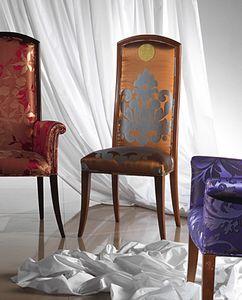 SE34E New Classic, Klassischer gepolsterter Stuhl zu einem reduzierten Preis