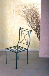 Stuhl SD/091, Eisenstuhl, Outletpreis