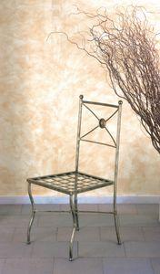 Stuhl SD/097, Eisenstuhl, Outletpreis