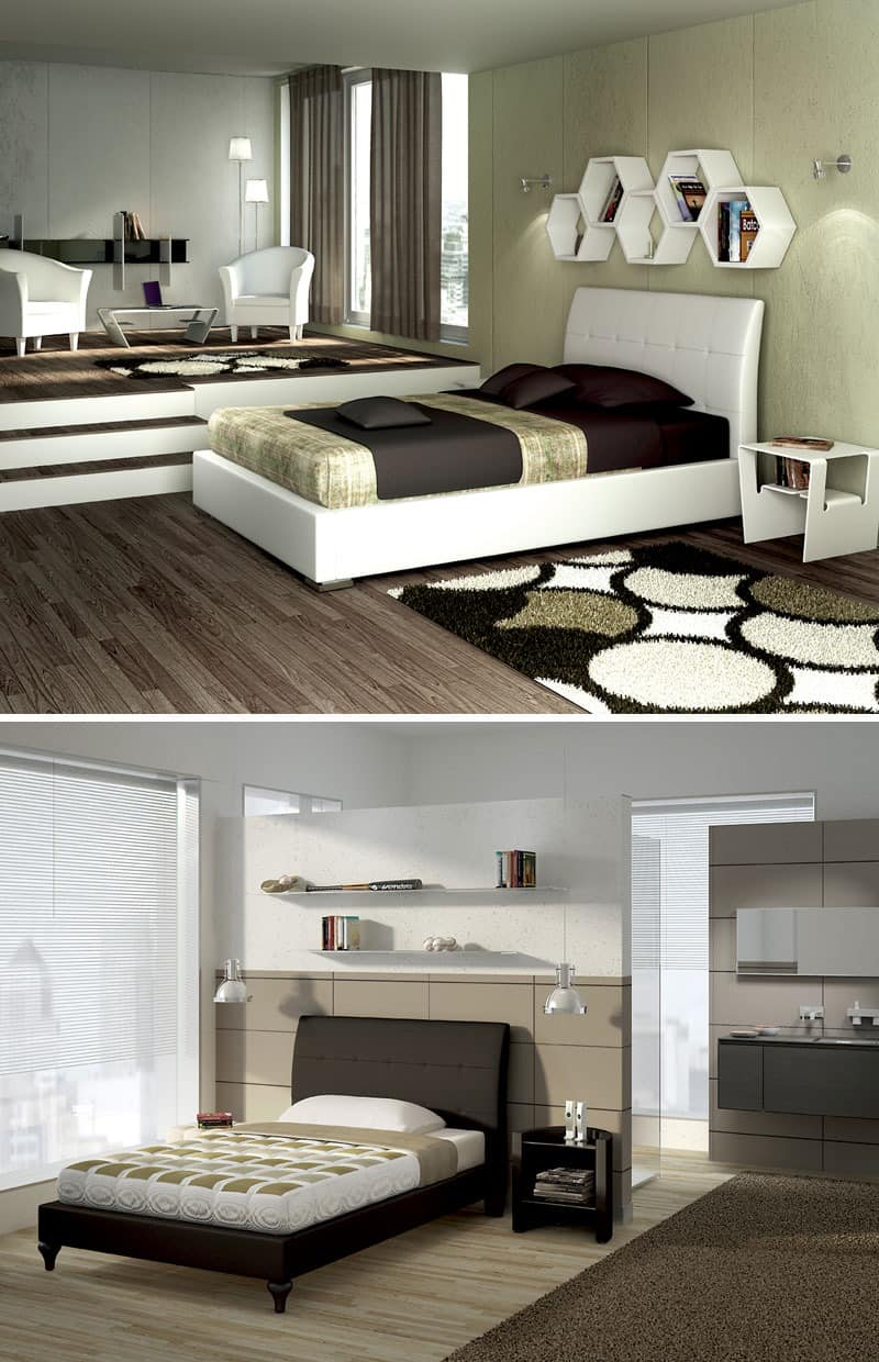 betten modern gepolstert idf. Black Bedroom Furniture Sets. Home Design Ideas