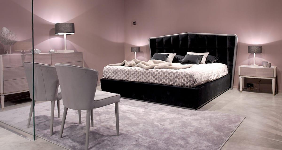 Modeno gepolstertes Bett | IDFdesign