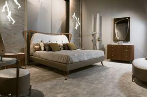 CRONO Bett GEA Collection, Modernes gepolstertes Bett