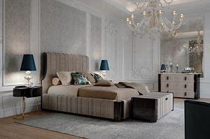 Hotel de Ville Bett, Luxusbett mit gepolsterter Struktur