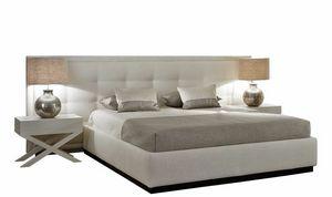 Jazz, Modernes Bett mit breitem Kopfteil