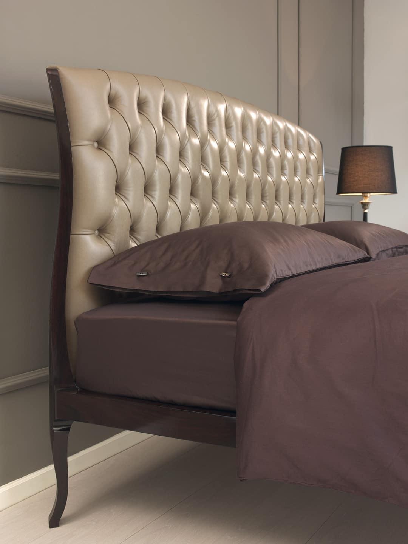 bett in esche und santos palisander mit n geln idfdesign. Black Bedroom Furniture Sets. Home Design Ideas