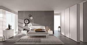 London, Modernes Doppelbett für Hotels geeignet