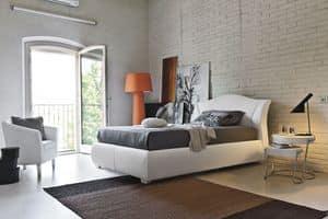 MADDALENA SD438, Polsterhalbdoppelbettfür die modernen Zimmer geeignet