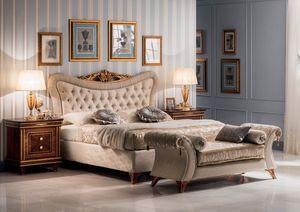 Modigliani Gepolstertes Bett, Majestic gepolstertes Bett