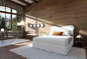 Monroe, Klassische Polsterdoppelbettideal für Hotelzimmer