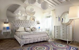 Narciso Bett, Gepolstertes Bett, die Modernität und Tradition verbindet