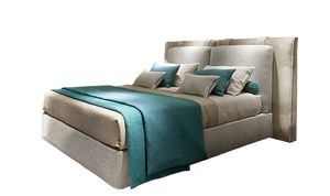 Oceano, Bett mit zwei Kopfteilen