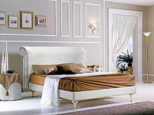 PRINCIPE bett, Bett mit Polsterkopfteil und Struktur