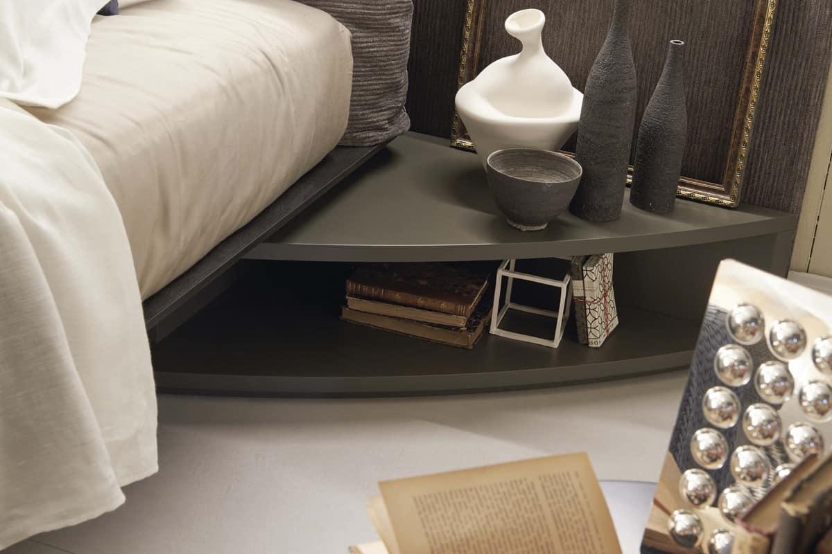 bett mit gepolstertem kopfteil beeindruckend mit lichtern idfdesign. Black Bedroom Furniture Sets. Home Design Ideas