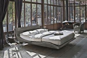 SARDEGNA KB447, Modernes Doppelbett ideal für Hotels