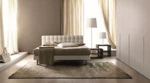 Tender, Gesteppt Doppelbett für moderne Schlafzimmer geeignet